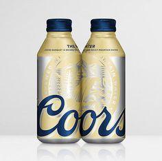 Coors Banquet Pints #packaging #beer #bottle