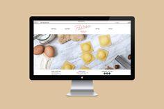 Naomie Ross & Daniel Renda: Pastosa / on Design Work Life #computer #branding #website #graphics #web