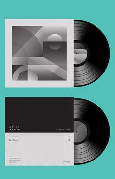Phonica 008 Jack Featherstone #packaging #vinyl