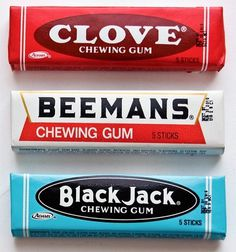 Observed: Chewing Gum Packaging | Andy Mangold