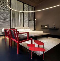 Living Divani Temporary Store at Torre Velasca Expo 2015 - bedroom, bedroom design, bed, bedroom decorating, #bedroom