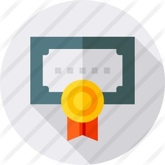 See more icon inspiration related to sports and competition, patent, degree, contract, certificate, education, diploma and interface on Flaticon.