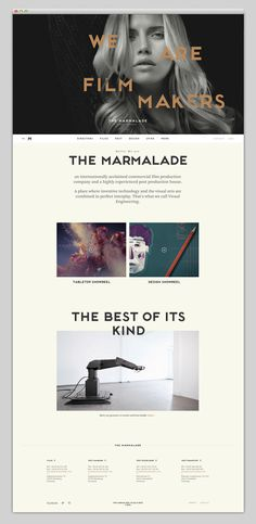 Most beautiful websites collection – www.mindsparklemag.com #layouts #website #site