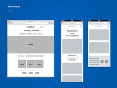 Wireframes #page #wireframe #layout #web #landing