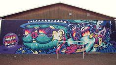 Colour in forgotten places on Behance #graffiti #forgotten #art #street