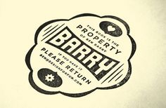 My Personal Library | The Graphic Works of Bernard Barry #logo #barry #branding