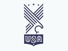 USA all the way. #badge #strenth #stripes #seal #eagle #stars #usa