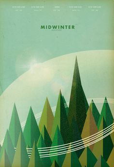 Poster #retro #illustration #nature #architecture #vintage #poster