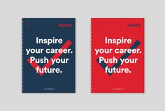 Alpadia Language Schools by Jorge León #brand design #poster