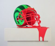 SPLIT MELON Mark Ward Studio #watermelon