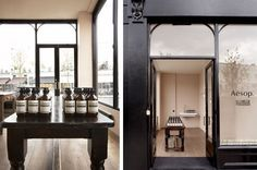 Aesop Notting Hill 227A, Westbourne Grove. London.