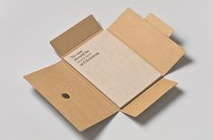Exhibition Catalogue, shown with box #box