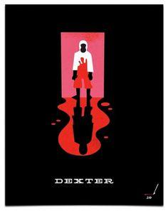 Dexter « Mattson Creative #tv #dexter #poster #show