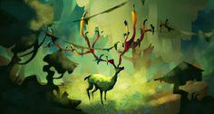 Digital Paintings by Apolline Etienne