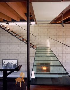 Staircase At The 700 Palms Residence By Ehrlich Architects