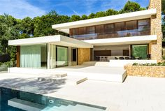 Vacation House by JUMA Architects - #decor, #interior, #home, #architecture, #house,