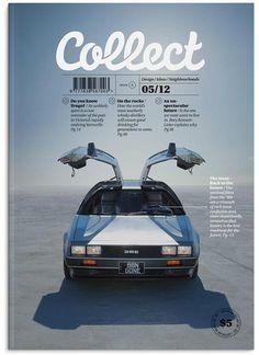 Collect (Australia) Coverjunkie.com #delorean #collect