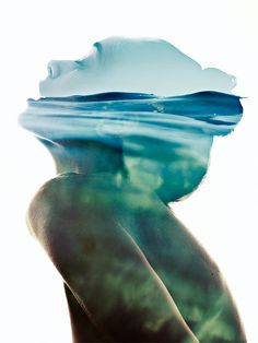 Double Exposure Portraits by Photographer Aneta Ivanova