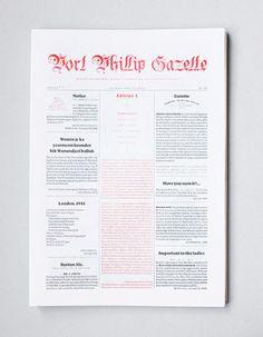 Port Phillip Gazelle #publication #layout #editorial