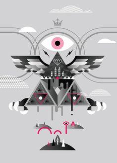 eyes pyramid v3.jpg #crown #monster #illuminati #eye #triangle #pyramid #wings