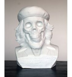 Bust DEAD CHE Porcelain by Kozik #porcelain #art