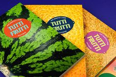Tutti_frutti_5 #design #graphic #fruit #photography #booklet