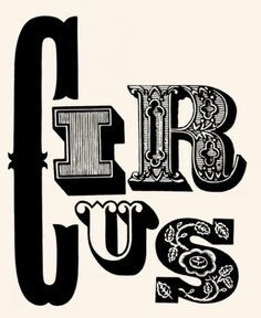 Jonas Bergstrand #inspiration #lettering #red #circus #illustration
