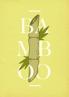 3 notes #vector #letters #ibiza #oscar #typography #print #fresh #bamboo #asian #melbourne #illustration #barcelona #torres #green