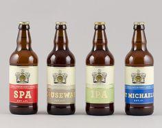 Cornish Crown Bottles #packaging #beer