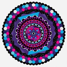 Onesidezero . SleepSphere #mandala #vector #illustrator #brett #onesidezero #sphere #art #wilkinson