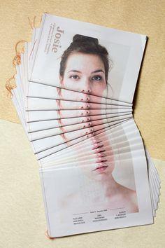 Josie Magazine — Magazine design, 2014