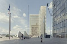 Architecture Photography: Update: National Library of France / Dominique Perrault - Update: National Library of France / Dominique Perrault (141355) â #towers #libraries #architecture #facades
