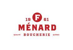 F. Ménard |Branding on Behance #brand