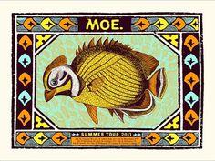 GigPosters.com - Moe. #nate #gigposter #duval #moe