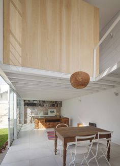 Casa PCF by CCFMG arquitectos #interior #design #minimalism