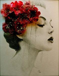 Creative Inspiration #illustration #photograph #flowers