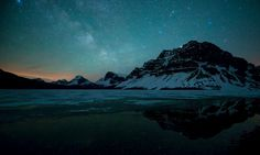 Mountain Stars – WallpapersBae