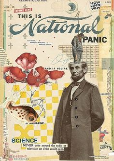 FFFFOUND! | All available sizes | panicx | Flickr - Photo Sharing! #mixed #media #collage #color