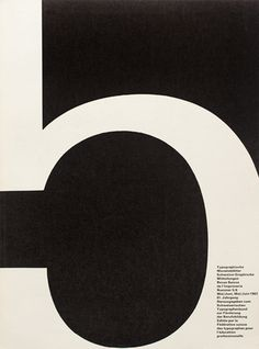 Cover from 1962 issue 5/6 | Cover Design André Gürtler Bruno Pfäffli Typeface Univers