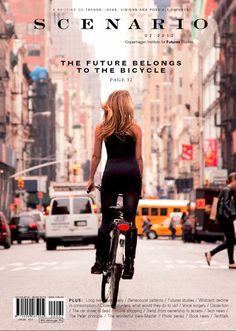Scenario (Copenhague / Copenhagen, Danemark / Denmark) #design #graphic #cover #editorial #magazine