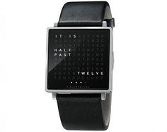 Qlocktow W | 123 Inspiration #design #biegertfunk #qlocktwo #company #clock #german