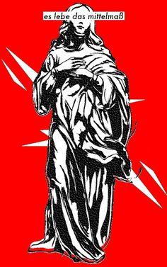 Es Lebe das Mittelmaß : pfdfndr #red #madonna