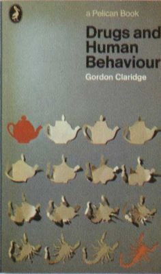 Penguin Books - Drugs and Human Behaviour #covers