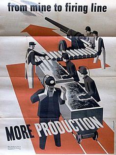 Tumblr #vintage #poster #war #wwii #production #original