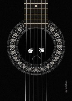 Freedom #illustration #poster #guitar #pattern #cell #prisoner