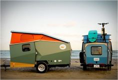 PicoCool - Cricket Pop-up Trailer #objects #trips #design #road #travelers #nomads #trailers