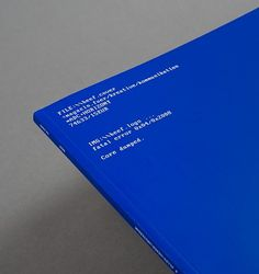 Julian Zimmermann | Graphic Design | Mannheim | Germany #design #book