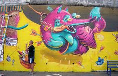 ARSEK & ERASE Walls 2013 #murals #wall #art #street