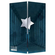 Fidlar of Texas Three Panel Gatefold Folder #gatefold #texas #star #trifold #folder
