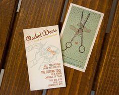 business cards | hair dresser | arnold graphic design